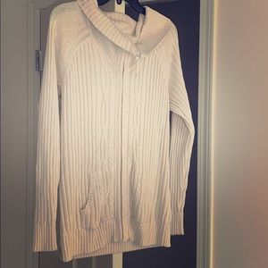 Knit Zip-Up Sweater